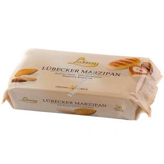 Оригинальный марципан из Германии 52% миндаля 200 грамм - Lubeca