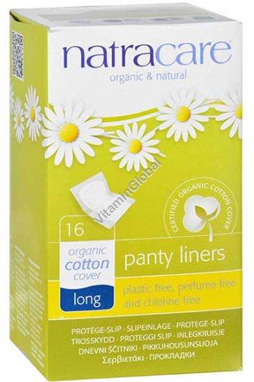 Ежедневные натуральные гигиенические прокладки длинные 16 шт - Natracare