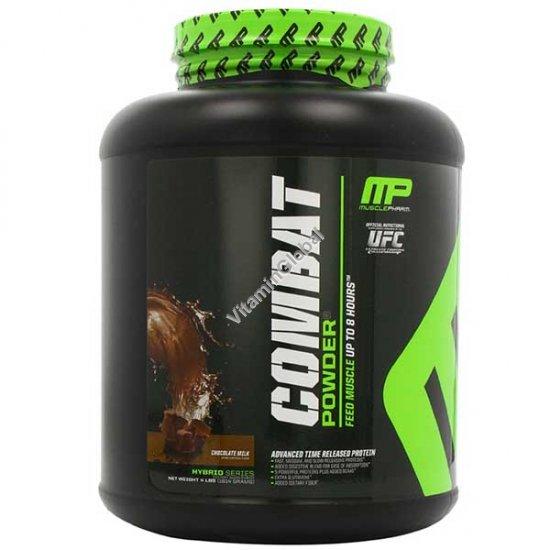Combat - 5 видов протеина в порошке вкус молочный шоколад 1.814 кг - Muscle Pharm