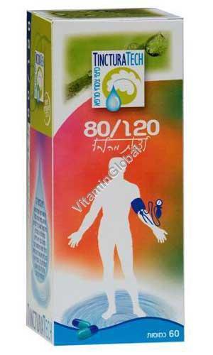 80/120 натуральная формула для снижения кровяного давления 60 капсул - Тинктура Тек