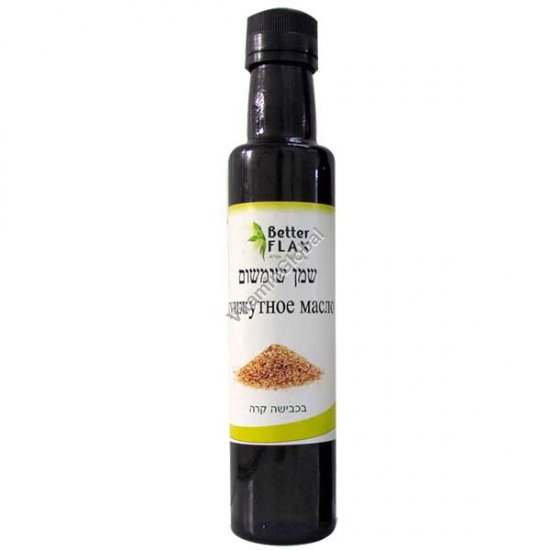 Кунжутное масло холодного отжима 250 мл - Better Flax