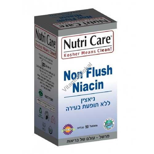 Нон флэш ниацин - витамин В-3 90 таб - Nutri Care