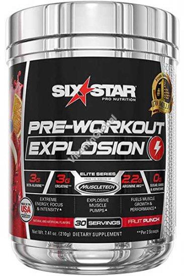 Предтренировочный комплекс с фруктовым вкусом Six Star 210 гр - Muscletech