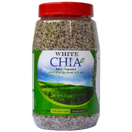 Белая чиа (испанский шалфей) семена 360 гр - YGN