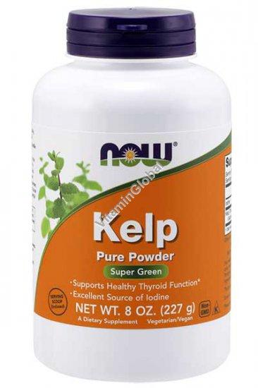Органическая водоросль Келп в порошке 227 гр - NOW Foods