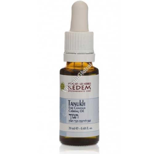 Танух - масло для облегчения болей в ушах 20 мл - Травы Кедем
