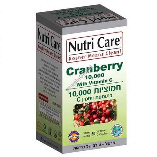 Экстракт клюквы с витамином C 60 капсул - Nutri Care