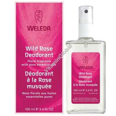 Дезодорант дикой розы 100 мл - Веледа
