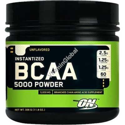 BCAA 5000 в порошке 345 гр - Optimum Nutrition