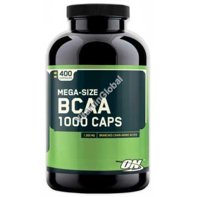 BCAA 1000 мг 400 капсул - Optimum Nutrition