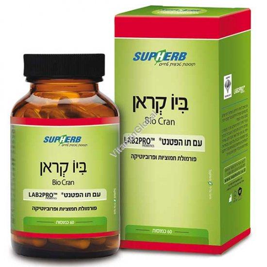 Био Крэн пробиотик 60 капсул - SupHerb