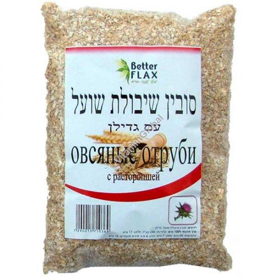 Овсяные отруби с расторопшей 200 гр - Better Flax