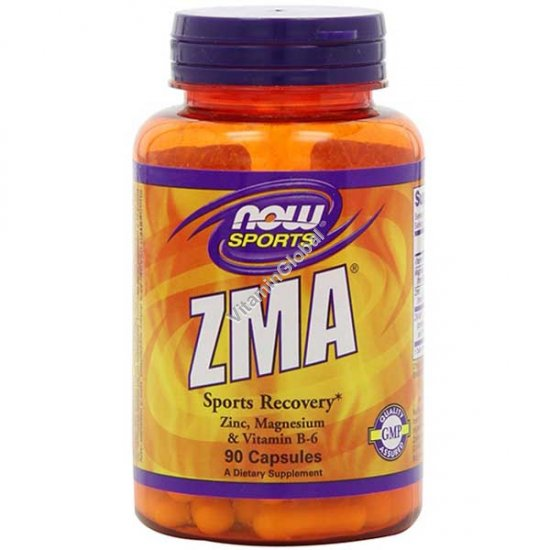 ZMA 90 капсул - Now Foods