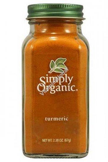Органическая куркума в порошке 67 гр - Simply Organic