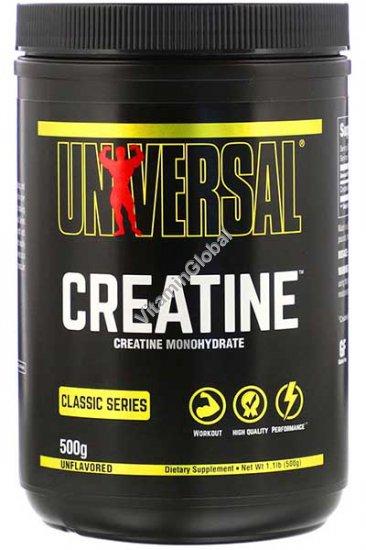 Креатин моногидрат в порошке 500 грамм - Universal Nutrition