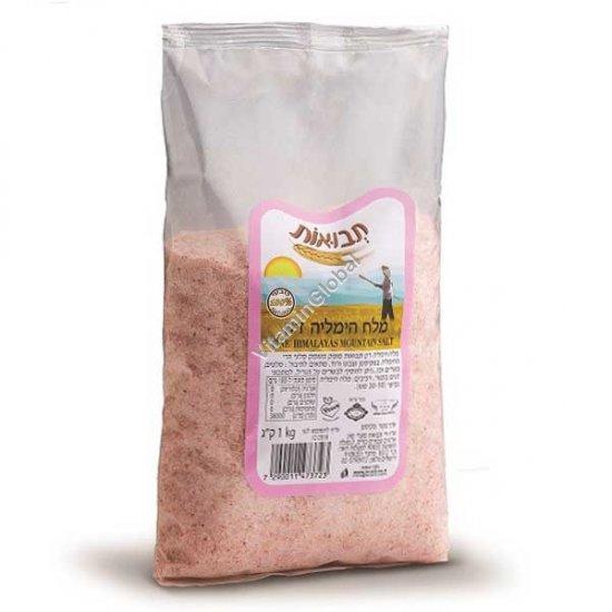 Гималайская розовая соль мелкая 1 кг - Tvuot