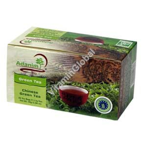 Китайский зеленый чай 20 пакетиков - Аданим