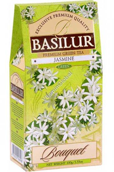Зеленый цейлонский чай с жасмином 100 гр - Basilur