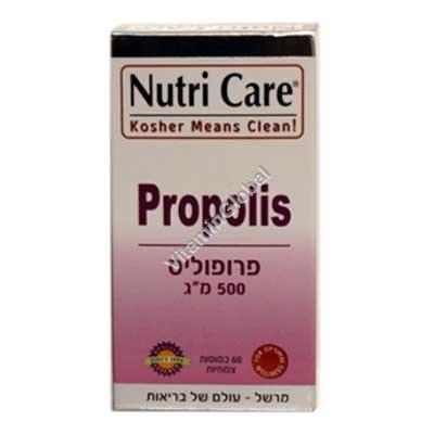 Прополис 500 мг 60 капсул - Nutri Care