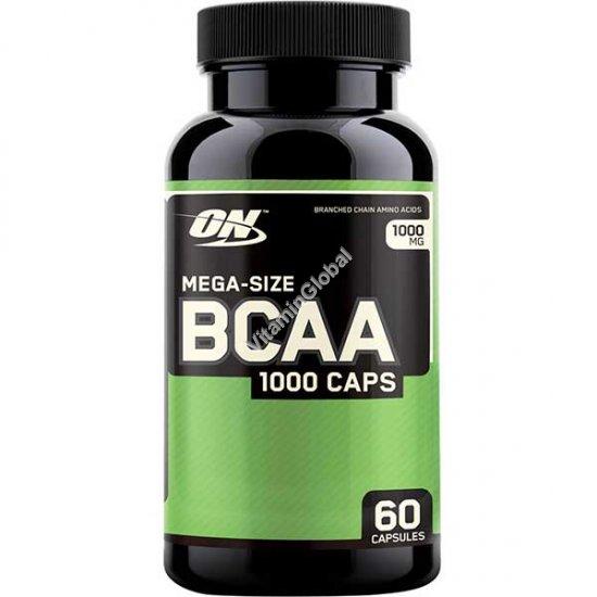 BCAA 1000 60 капсул - Optimum Nutrition