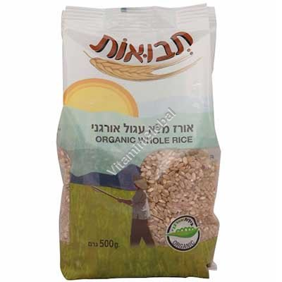 Органический коричневый рис 1 кг - Tvuot