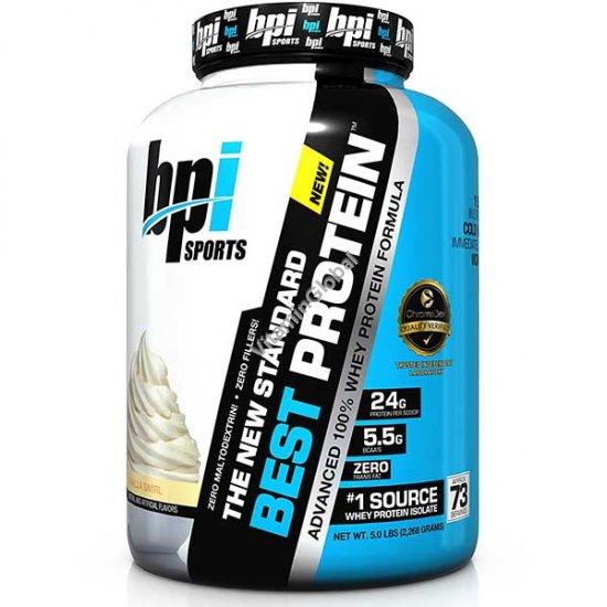 Бест протеин ванильный вкус 2.268 кг - BPI Sports