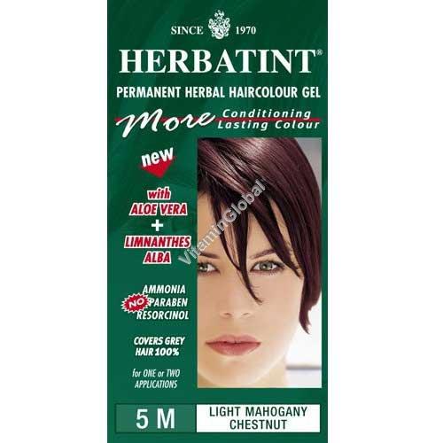 Светло-каштановый с красным оттенком 5М - Herbatint