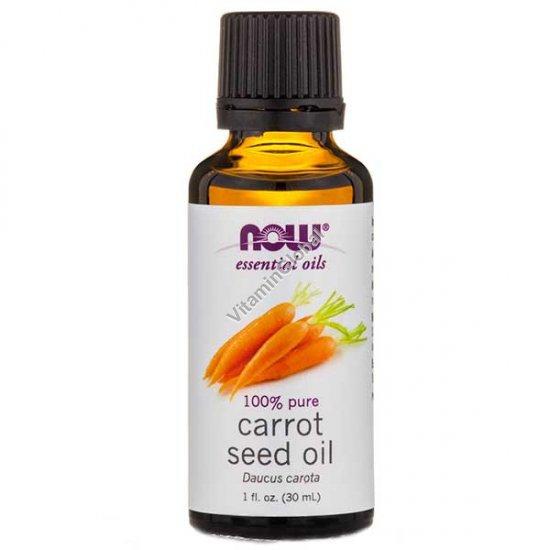 Mасло семян моркови 30 мл - Now Essential Oils