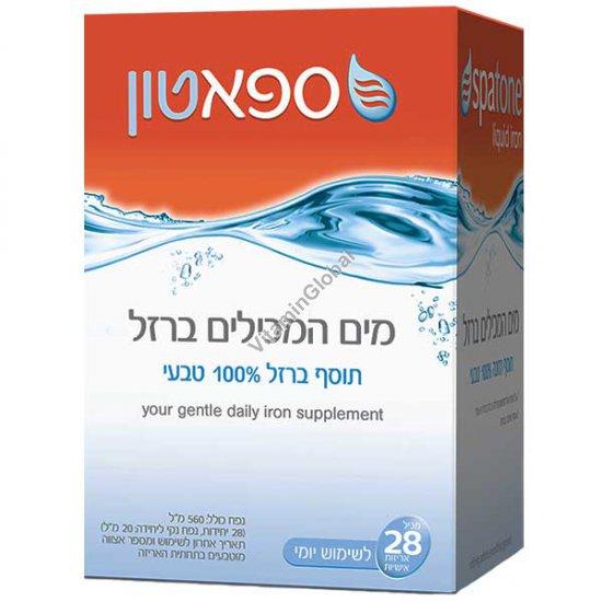 Спатон - обогащенная железом вода 560 мл (28 индивидуальных порций по 20 мл)