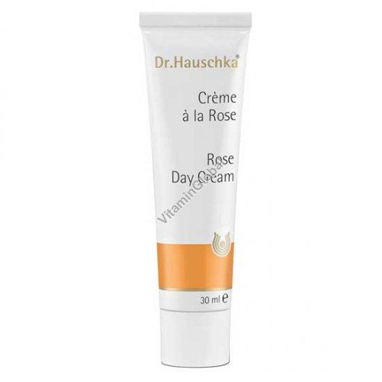 Дневной увлажняющий крем для кожи Роза 30 мл - Д-р Хаушка