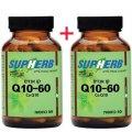 Коэнзим Q10 60 мг 120 капсул (60+60) капсул - SupHerb