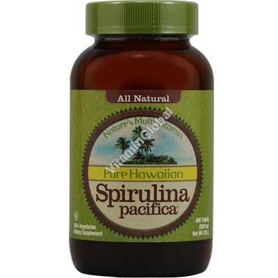 Гавайская спирулина 500 мг. 400 таблеток - Nutrex