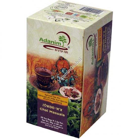 Органический чай масала 20 пакетиков - Аданим
