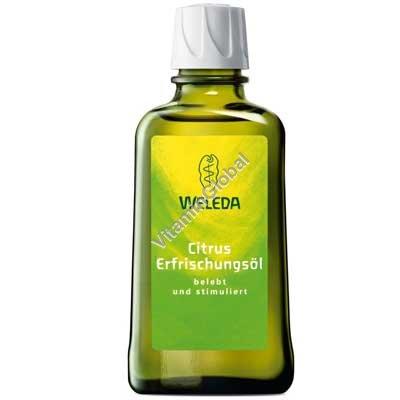 Цитрусовое и миндальное масло для тела 100 мл - Веледа