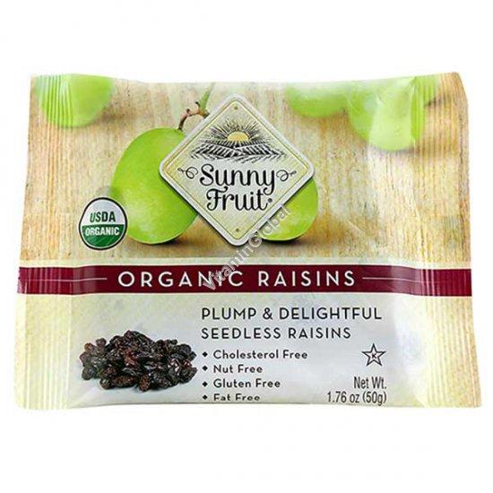 Органический изюм без косточек 50 гр - Sunny Fruit