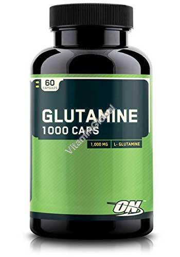 Глютамин 1000 мг 60 капсул - Optimum Nutrition