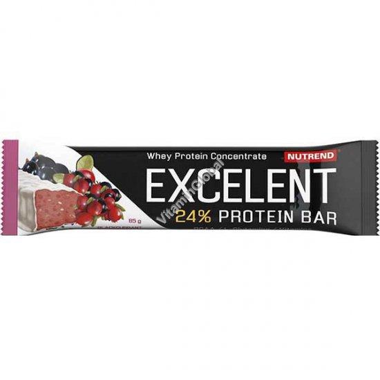 Протеиновый батончик со вкусом черной смородины и клюквы с покрытием йогуртом 85 гр - Nutrend