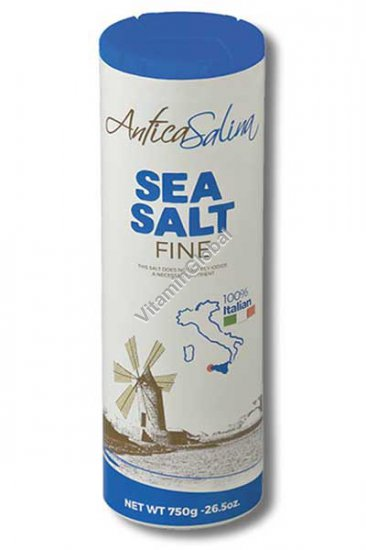 Мелкая морская соль 750 гр - Antica Salina