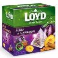 Фруктовый чай слива с корицей 20 фильтр-пакетиков пирамид - Loyd