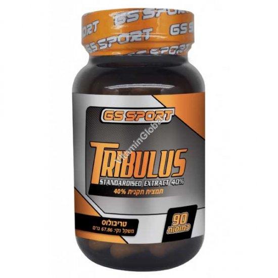 Трибулус экстракт (якорцы стелющиеся) 500 мг 90 капсул - GS Sport