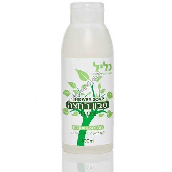 Гель для душа с экстрактом зеленого чая и оливковым маслом 500 мл - Klil