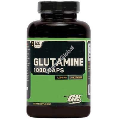 Глютамин 1000 мг 120 капсул - Optimum Nutrition