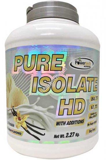 Изолят сывороточного протеина с ванильным вкусом 2.27 гр - PowerTech Nutrition