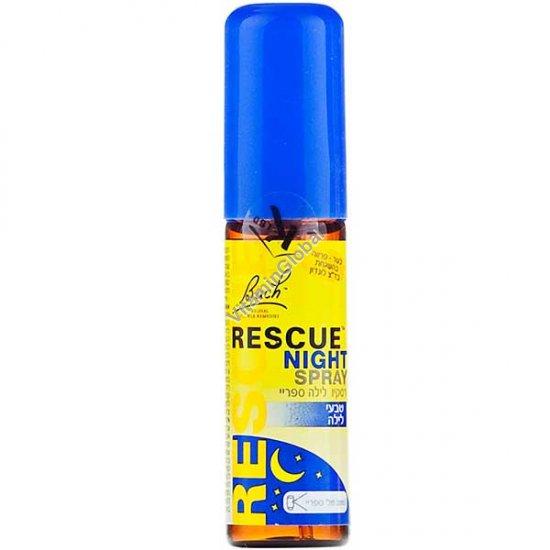 Спрей Rescue Remedy ночной для улучшения сна 20 мл - Доктор Бах