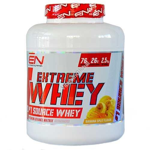 Сывороточный протеин со вкусом банана 2.50 кг - Extreme Nutrition