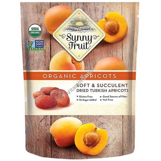 Органические, сушеные на солнце абрикосы 250 гр (5 порционных упаковок) - Sunny Fruit