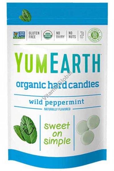 Органические мятные леденцы 93.5 гр - YumEarth
