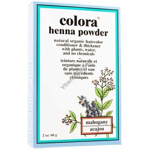 Хна для волос цвет махагон 60 гр - Colora