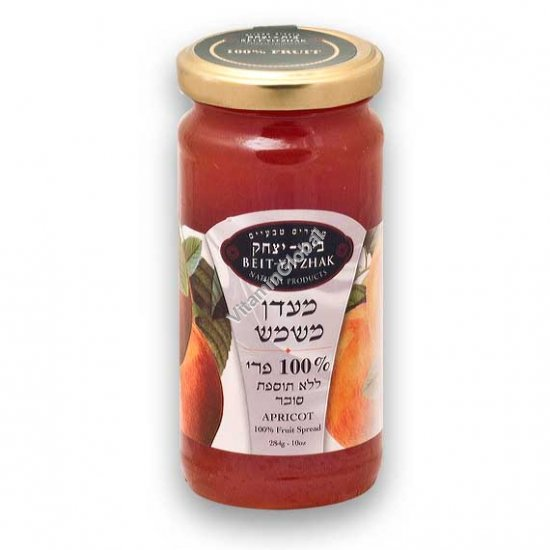 Натуральный абрикосовый джем без добавления сахара 284 гр - Бейт Ицхак