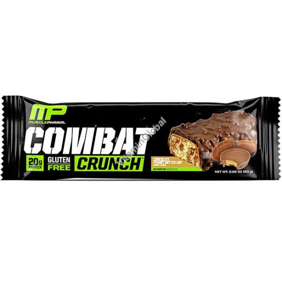 Протеиновый батончик шоколад и арахисовое масло 63 гр - MusclePharm